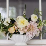 Bowl of Wedding Flowers