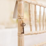 Decorative Key on Banister