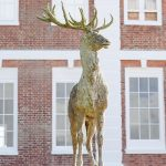 Ray Rowden Deer Statue
