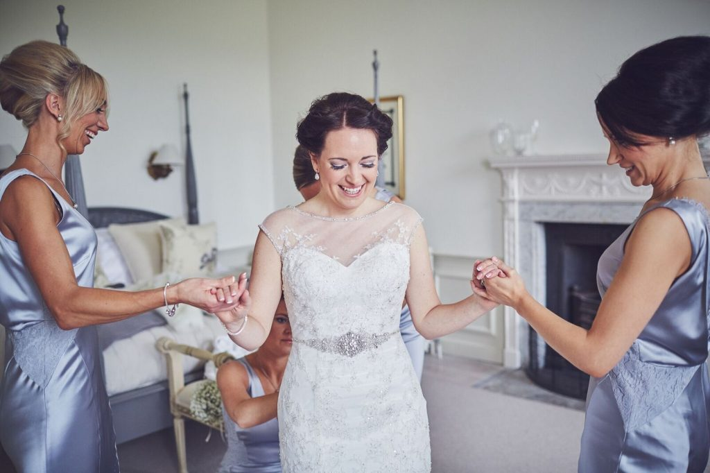 The Morning of your Wedding Day at Pynes House