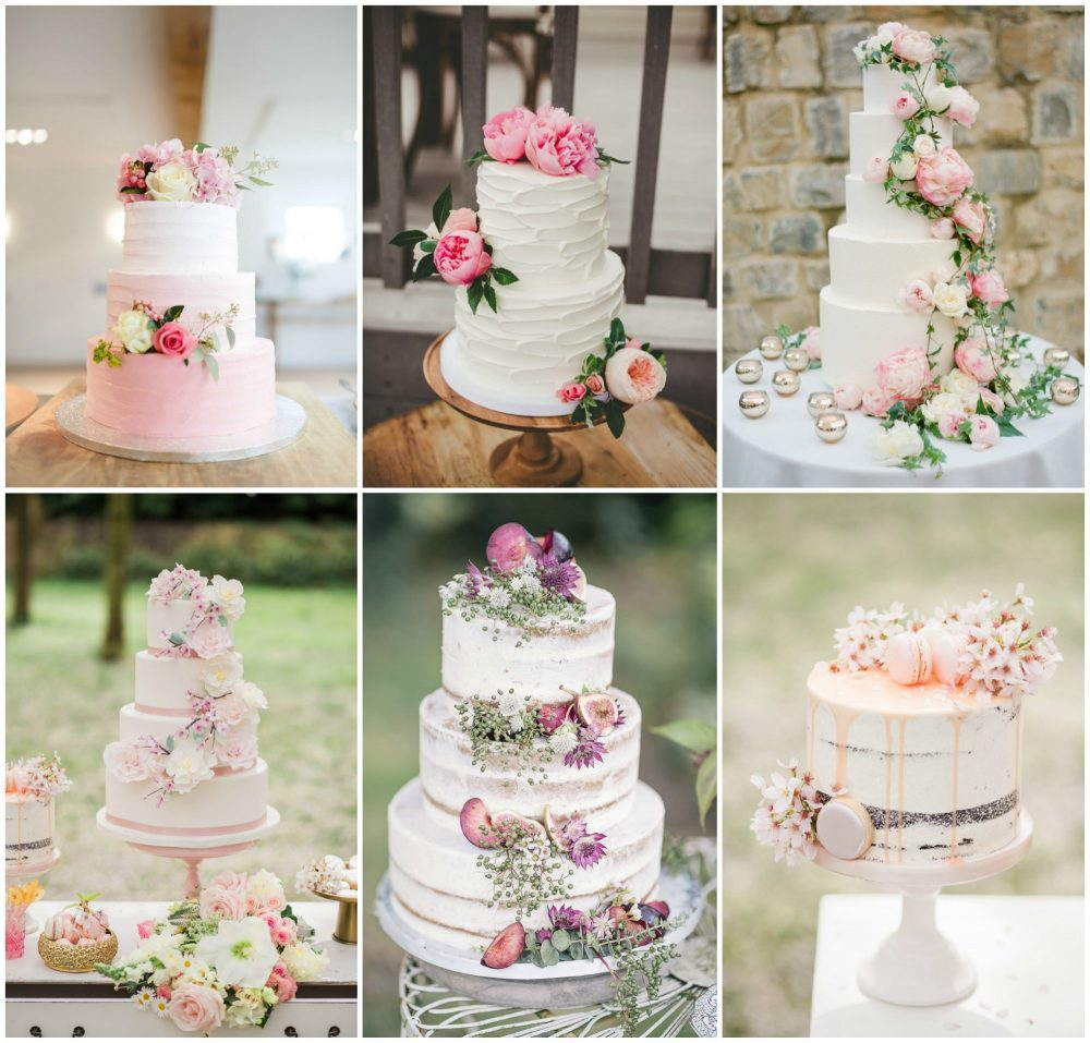 Inspiration For Beautiful Floral Wedding Cakes Pynes House
