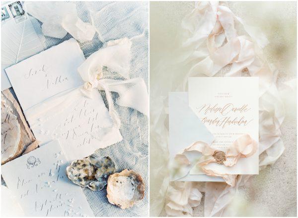sophisticated wedding invites