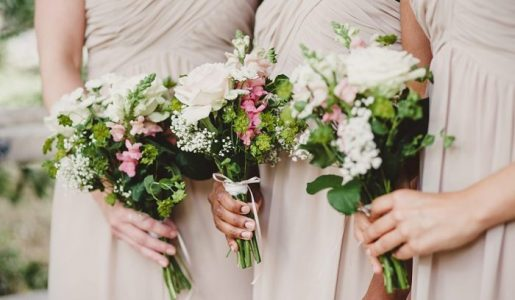 Enchanting Secret Garden Wedding Inspiration: Pink, Green and Ivory Colour Palette