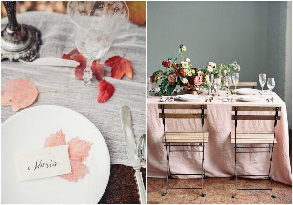 The Prettiest Inspiration for a Modern Autumn Wedding