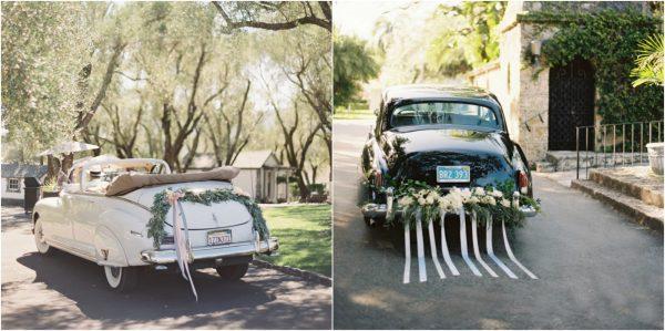 Beautiful Ways to Decorate your Wedding Getaway Car CAR