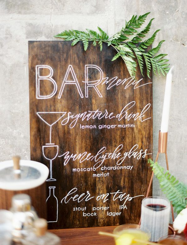 15 Fun Ways To Use Wedding Signs At Your Big Day greenweddingshoes.com - spostophotography.com