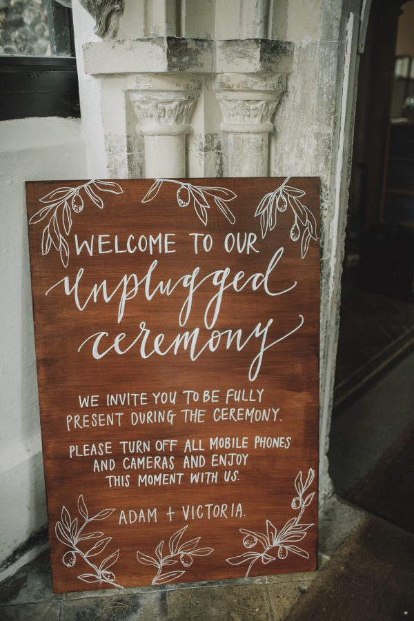 15 Fun Ways To Use Wedding Signs At Your Big Day lovemydress.net - kat-hill.com