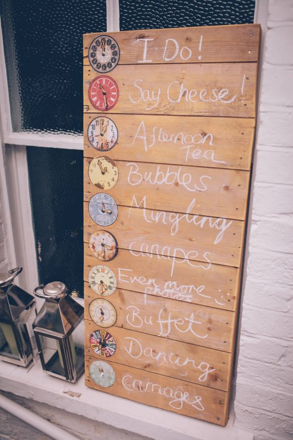 15 Fun Ways To Use Wedding Signs At Your Big Day rockmywedding.co.uk - storyandcolour.co.uk