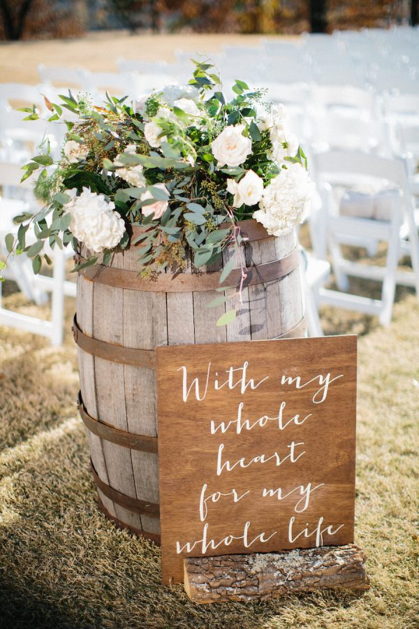 15 Fun Ways To Use Wedding Signs At Your Big Day stylemepretty.com - hillaryleahphotography.com
