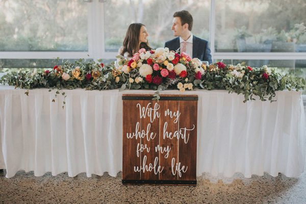 15 Fun Ways To Use Wedding Signs At Your Big Day theweddingplaybook.com - chloetannerphotography.pixieset.com